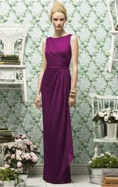 UK Long Purple Tailor Made Evening Prom Dress(BNNAK0054)