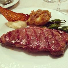 Entrecot a los dos quesos Steak, Spain, Food, Beef, Lamb, Cow, Meals, Recipes, Sevilla Spain