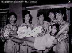 Singer Julie Quang and The Free Ones (Nha Trang, South Vietnam. 12-31-68)