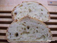 Egyszerű kovászos kenyér – Alaprecept – Betty hobbi konyhája Bread, Food, Animals, Animales, Animaux, Brot, Essen, Animal, Baking