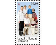 New Photos of Danish Crown Princely Family in Greenlandic National Costumes Oct. 17, 20