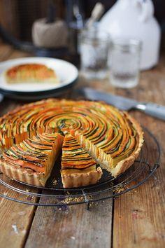 Gemuese Spiral Tarte