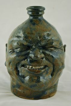 Face Jug Pottery by Mahlke-- The Yankee Potter | eBay