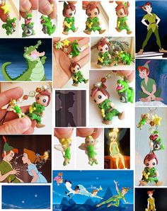 sold item  This is a hand made Peter Pan cell phone strap /key chain !  The charm is made out of premo polymer clay. On the clay i sprinkled glitter on to Peter Pan's outfit ,Tinkerbell , and also on the star .To give it a nice shin to the charm, i p With over 6500 products at www.pricetales.com at wholesale prices, you will regret it if you don't visit us - www.pricetales.com