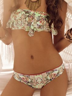 Butterfly Flight Two Piece Swimsuit by Malai 2014 from #SwimwearBoutique
