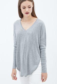V-Neckline Dolphin Sweater - Back In Stock - 2000059447 - Forever 21 EU  Dolphins 6f0af8c57