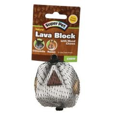 Super Pet® Natural Lava Block with Wood Chews Toy for Small Animals - Toys - Small Pet - PetSmart