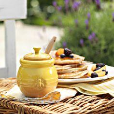 Tarro para miel con cuchara Le Creuset