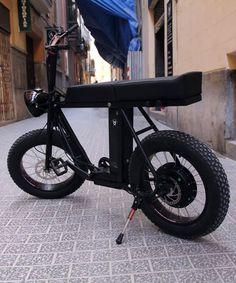 MOKE urban utility two-person e-bike