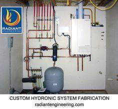 radiant floor heating system information   building materials