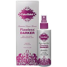 Fake Bake Flawless Darker, 6 Ounce Fake Bake
