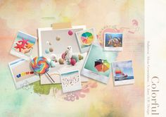 Clever moodboard by ines aryaniputri, via Behance.