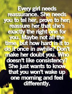 just need reassurance when im overwhelmed and doubting everything....  WOW SOOOOOO TRUE