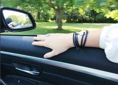 Black Leather || Silver || Cruisin' || Summer || Convertible || JoJo Wrap