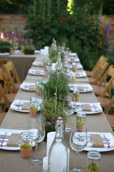 Farm to Table - Client Appreciation Dinner Party