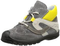 Superfit Softtippo – Zapatos de primeros pasos de cuero bebé – unisex, color gris, talla 20