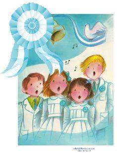 escarapela argentina Christmas Carol, Illustration, Pledge Of Allegiance, Christmas Music, Illustrations
