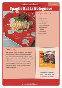Spaghetti a la Bolognese Good Healthy Recipes, Healthy Cooking, New Recipes, Spaghetti Bolognese, Good Food, Yummy Food, Lidl, Weight Watchers Meals, Light Recipes
