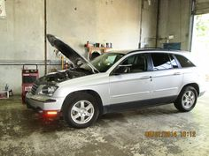 2006 Chrysler Pacifica in for AC check and recharge