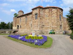 The Norman Colchester Castle in Essex, England. Colchester is the oldest recorded Roman town in Britain, and for a time it was capital of Roman Britain and was called Camulodunum