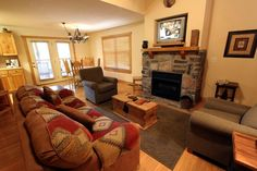 Great one bedroom furnished lodge by the lake. Come and enjoy all the amenities of Stonebridge. Swimming, tennis, golf, walking trails and after a day of fun enjoy dinner at the restaurant. This unit does very well on the nightly rental program. It grossed 22k in 2012 and 25k in 2013.