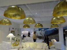 Cyrus Company's stand at Maison & Objet. Trend: Golden opulence #maisonobjet #MO16 #bathroomtrends