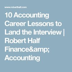 6 Resume Writing Tips   Robert Half Finance & Accounting   Work ...