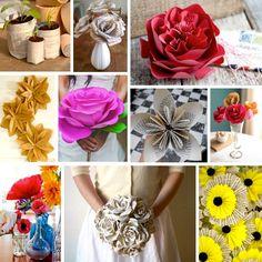 flores de papel :D #DIY
