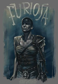 BROTHERTEDD.COM - themeedes:   - Imperator Furiosa tribute -... Imperator Furiosa, Mad Max Fury Road, Different Media, Star Children, God Of War, Buy Prints, Beautiful Artwork, Personal Branding, I Tattoo