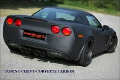 Corvette carbon body