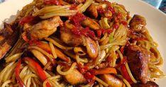 Ez egy alap recept azoknak, akik szeretik a kínai pirított tésztás ételeket és szeretnék maguknak otthon is elkészíteni, anélkül...