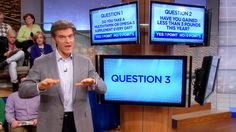 """Dr. Oz's """"How Healthy Are You?"""" Quiz, Pt 1"""
