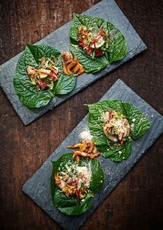 Prawn miang at Sway (Thai) in Austin Texas. It has moved to the front of my list for favorite restaurants !! Love it