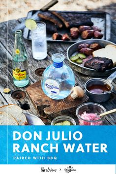 A barbecue feast requires a light tasting cocktail for balance. Just don't forget the fresh limes! To make: Pour 1 1/2 oz Tequila Don Julio Blanco and 1/2 oz fresh lime juice into a highball glass. Stir well. Fill glass with ice and Topo Chico. Garnish with a lime wedge. #ad Alcohol Drink Recipes, Easy Drink Recipes, Easy Cocktails, Cocktail Recipes, Highball Glass, Lime Wedge, Baby Shower Fun, Fresh Lime Juice, Tequila