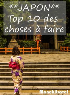Top 10 - Que faire au japon Voyage