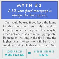 Home Buying Myths Debunked (Part 3): Don'r be afraid to consider options outside of the traditional 30 yr. fixed mortgage. It's not for everyone. #investing #mortgagebroker #mortgage #millenials #newhome #lajolla #sandiego #sanfrancisco #santaluz #delmar #california #carmelvalley #encinitas #solanabeach #pictureoftheday #jumboloans #realtor #realestate #realtorlife #realestatesales #netlending #lajollalocals #sandiegoconnection #sdlocals - posted by NetLending…