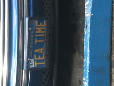 The perfect vanity plate for my future persnickety project car.