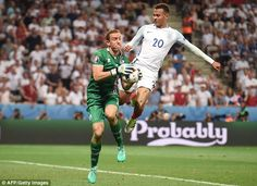 Dele Alli failed to make any real impact on proceedings and was ineffectual throughout the campaign England Euro 2016, Dele Alli, Goalkeeper, Big Game, Football Soccer, Games To Play, Iceland, Lions, Campaign