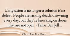 Tahar Ben Jelloun Quotes About Death - 14098