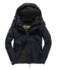 Shop Superdry Mens Double Atlantic Jacket in Navy. Buy now with free delivery from the Official Superdry Store. Superdry Jackets, Men's Jackets, Winter Jackets, Superdry Fashion, Female Images, Free Delivery, Motorcycle Jacket, Men's Fashion, Range
