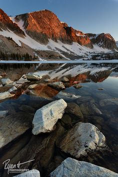 Lake Marie, Wyoming; photo by .Ryan C. Wright