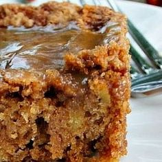 Mom's Best Apple Cake..sometimes I put cream cheese frosting on top