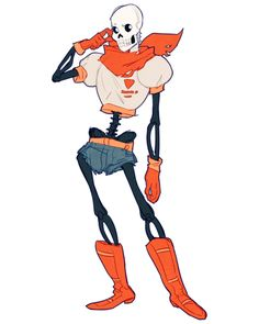i always imagined papyrus in daisy dukes and. - Makes it both sadder and also better Undertale Love, Undertale Fanart, Toby Fox, Burlesque Costumes, Daisy Dukes, Video Game Art, Indie Games, Art Studies, Art Blog