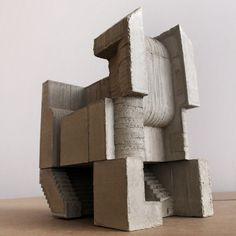 Modular concrete sculpture