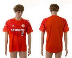 c5596353c80 Chelsea Third Goalkeeper Thailand Quality Soccer Jersey 14-15 Season Orange