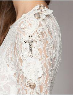 Lace Crop Top - $169