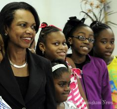Condoleezza Rice visits Birmingham Boys & Girls Club