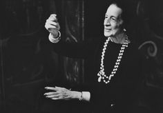 Diana Vreeland by Deborah Turbeville           'The only real elegance is in the mind;     if you've got that, the rest really comes from it.'