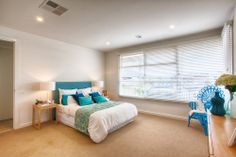 Master bedroom suite with a coastal/beachy feel