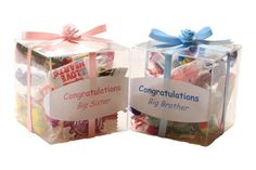 baby shower gifts for siblings to be | Big Sister/Brother Little Box Of Sweets Gift